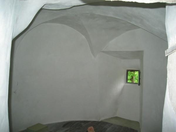 Stucwerk getoogde torenkamer