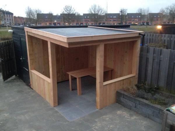 Een veranda – loungeruimte op maat